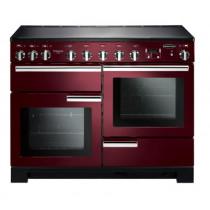 Rangemaster Professional Deluxe 110 Induction Cranberry Range Cooker 101570