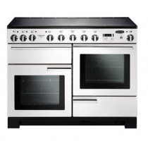 Rangemaster Professional Deluxe 110 Induction White Range Cooker 101580