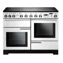 Rangemaster Professional Deluxe 110 Induction White Range Cooker 101580
