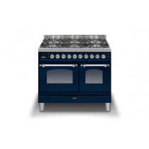 Ilve Milano 100 Twin Dual Fuel Blue Range Cooker