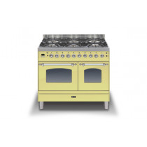Ilve Milano 100 Twin Dual Fuel Cream Range Cooker