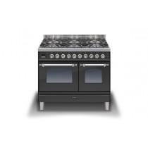 Ilve Milano 100 Twin Dual Fuel Graphite Range Cooker