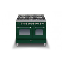 Ilve Milano 100 Twin Dual Fuel Green Range Cooker
