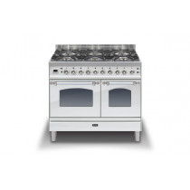 Ilve Milano 100 Twin Dual Fuel Stainless Steel Range Cooker