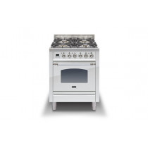 Ilve Milano 60 Single Dual Fuel Stainless Steel Range Cooker