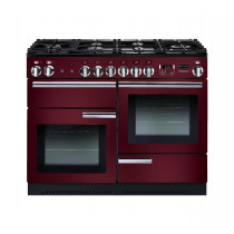 Rangemaster Professional Plus 110 Natural Gas Cranberry Range Cooker 91990