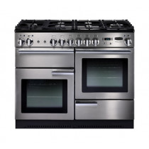 Rangemaster Professional Plus 110 Natural Gas Stainless Steel Range Cooker 86860