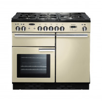 Rangemaster Professional Plus 100 Dual Fuel Cream Range Cooker 92610