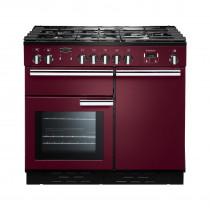 Rangemaster Professional Plus 100 Dual Fuel Cranberry Range Cooker PROP100DFFCY/C 92620