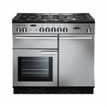 Rangemaster Professional Plus 100 Dual Fuel Stainless Steel Range Cooker 92590