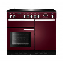 Rangemaster Professional Plus 100 Induction Cranberry Range Cooker 96050