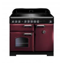 Rangemaster Classic Deluxe 100 Induction Cranberry Range Cooker 95940