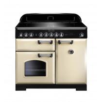 Rangemaster Classic Deluxe 100 Induction Cream Range Cooker 95930