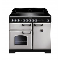 Rangemaster Classic Deluxe 100 Induction Royal Pearl Range Cooker