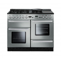 Rangemaster Toledo 110 Natural Gas Stainless Steel Range Cooker 73860