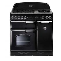 Rangemaster Classic 90 LPG Black/Chrome Range Cooker 74050