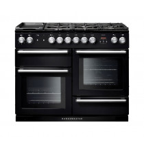 Rangemaster Nexus 110 Dual Fuel Black Range Cooker 104850