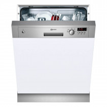 Neff S41E50N1GB Series 3 Semi-Integrated 60 Stainless Steel Dishwasher
