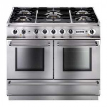 Falcon Continental 1092 Dual Fuel Stainless Steel Range Cooker with Matt Pan Supports