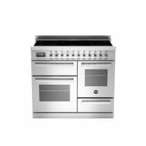 Bertazzoni Professional 100 Triple Cavity Induction Stainless Steel Range Cooker PRO100-5I-MFE-T-XT