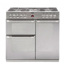 Stoves Sterling 900GT Stainless Steel 90 Gas Range Cooker