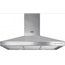 Belling DB Stainless Steel 100 Chimney Hood