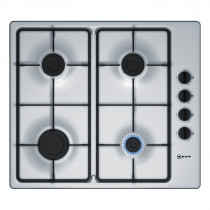 Neff T26BR46N0 60 Stainless Steel Gas Hob