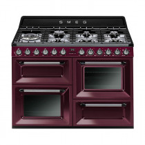 Smeg Victoria 110 Red Wine Dual Fuel Range Cooker