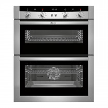 Neff U17M52N3GB Stainless Steel Built-Under Double Oven
