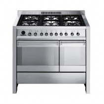 Smeg Opera 100 Dual Fuel Stainless Steel Range Cooker