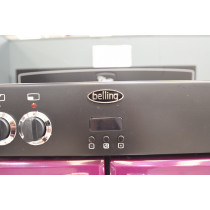 Belling Classic 100DF Wild Berry Range Cooker - Clearance Item
