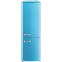 gorenje ORK193BL 188.7cm Retro Freestanding Baby Blue Fridge Freezer