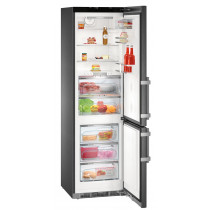 Liebherr CBNPbs 4858 Premium Fridge Freezer in Black Steel finish