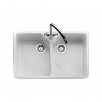 Rangemaster Belfast CDB800WH White Ceramic Sink
