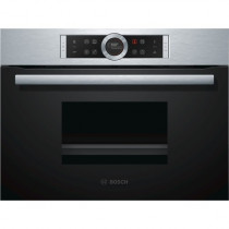 Bosch CDG634BS1 Brushed Steel Compact Steam Oven