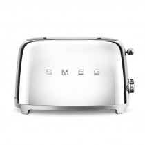 Smeg 50's Retro Style Chrome Two Slice Toaster
