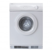 CDA Freestanding White Tumble Dryer CI522WH