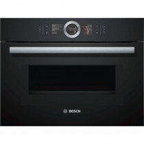 Bosch Serie 8 CMG656BB1B Black Compact Oven with Microwave