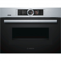 Bosch Serie 8 CMG656BS6B Compact Oven with Microwave