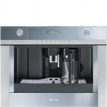 Smeg Linea 45cm Stainless Steel Coffee Machine CMSC451