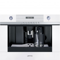 Smeg Linea 45cm White Coffee Machine CMSC451B