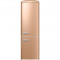 gorenje ORK193CO 188.7cm Retro Freestanding Royal Coffee Fridge Freezer