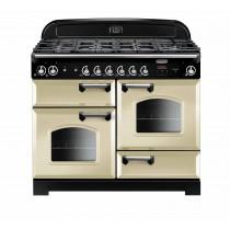 Rangemaster Classic 110 Dual Fuel Cream Range Cooker CLA110DFFCR/C 116790