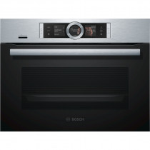 Bosch CSG656BS6B Brushed Steel Compact Steam Oven