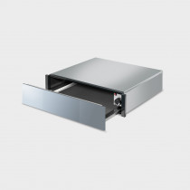 Smeg CTP1015S Linea 15cm Silver Glass Warming Drawer