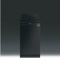 Smeg D4B-1 Freestanding 45cm Black Dishwasher
