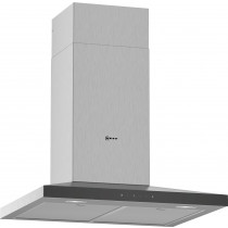Neff N50 60cm Stainless Steel Pyramid Chimney Hood D64QFM1N0B