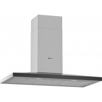 Neff N50 90cm Stainless Steel Pyramid Chimney Hood D94QFM1N0B