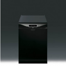 Smeg DC122B-1 Freestanding 60 Black Dishwasher