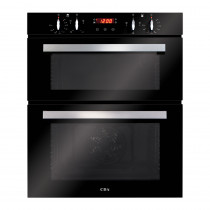 CDA Built-under Black Double Electric Oven DC740BL